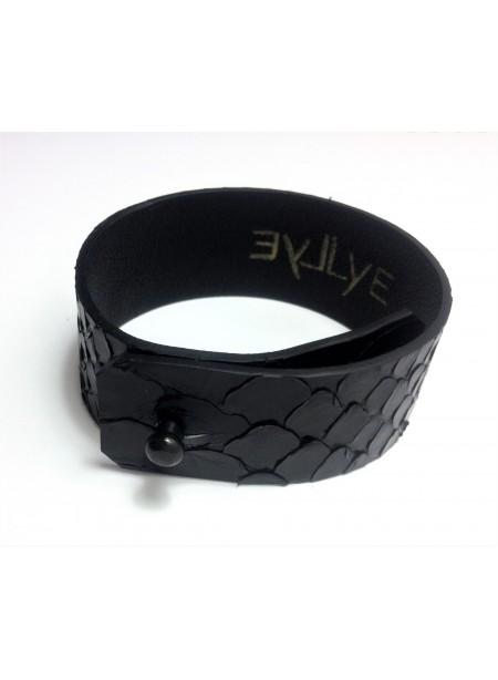 Bracelet Python 2.5cm - fermeture métal