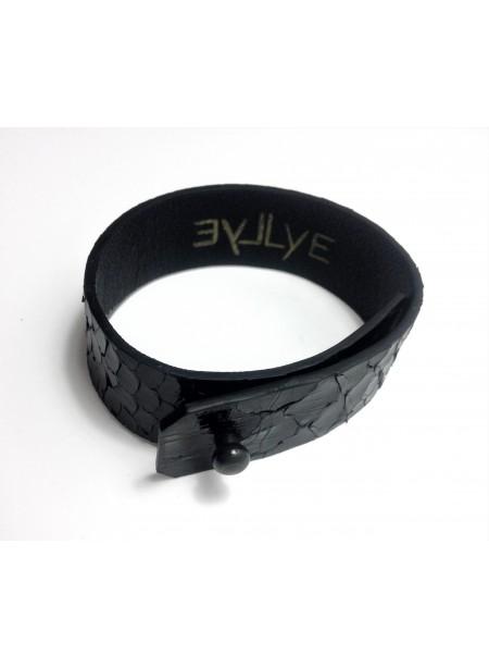 Bracelet Python 2cm - fermeture métal