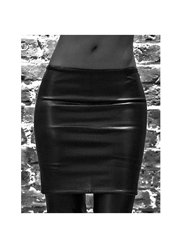 Band skirt - jersey viscose or coated jersey