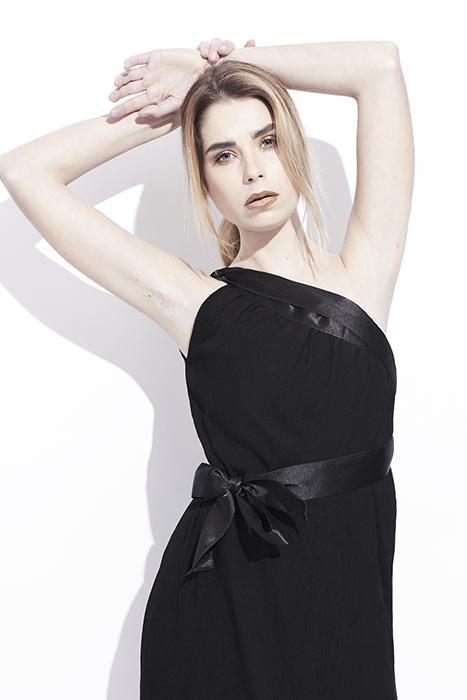 Robe / jupe noire modulable