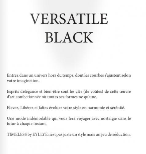 """Book """"VERSATILE BLACK"""""""