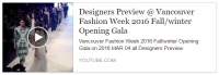 Opening gala VFW 2016 - Créateurs