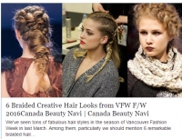 Tendance Coiffure à la Fashionweek