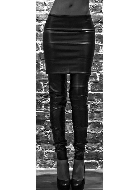 Jambières - jersey viscose ou enduit noir