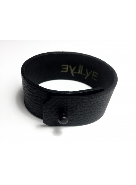 Bracelet en Cerf 2.5cm - fermeture métal