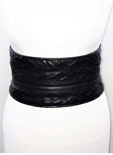 Adjustable Belt japanese Style - embossed simili leather