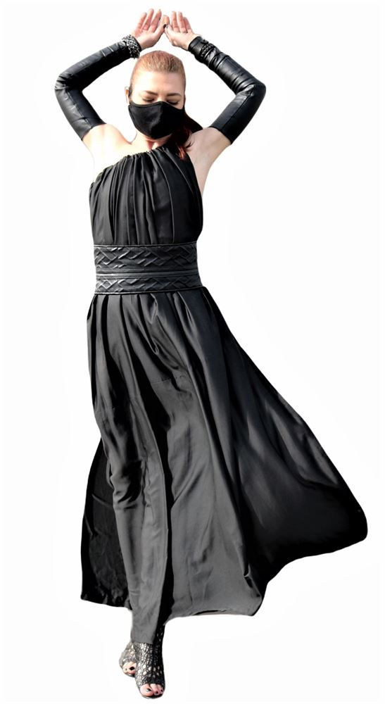 Transformable long dress