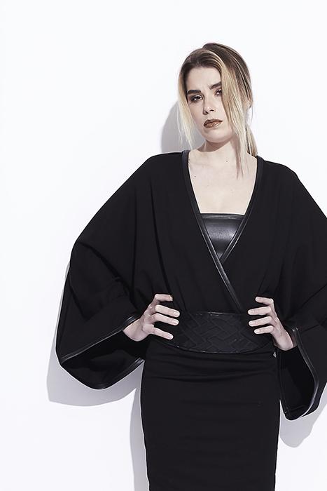 Top / Robe modulable - manches kimono